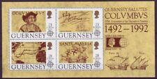 Guernsey1992 postfrisch MiNr. Block 8  500. Jahrestag der Entdeckung von Amerika