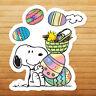 Snoopy Easter Eggs Peanuts Woodstock Car Wall Die Cut Window Vinyl Decal Sticker