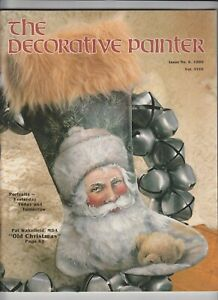 The Decorative Painter Magazine No 6 1990  Pat Wakefield Old Christmas