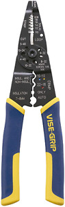 Vise-Grip Wire Stripping Tool Wire Cutter 8-Inch for Home Improvement Use