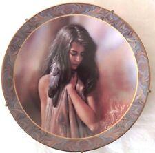Lee Bogle Gorgeous Native Maiden Portrait Native Beauty Plate