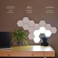 LED Modular Touch Quantum Hexagonal Wall lamp Light Sensor Fixture Bedroom