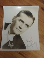 Autograph SIGNED Photo 1940s Big Band Leader Jazz musician Tommy Tucker