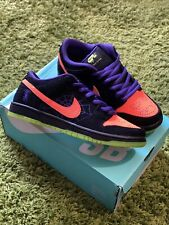 Nike SB Dunk Low Halloween Night of Mischief UK7