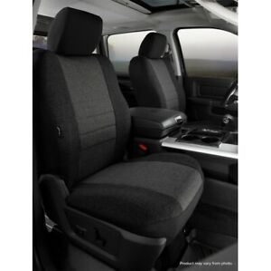 FIA OE37-34 CHARC Custom Seat Cover Front For 15-20 Ford F150 NEW