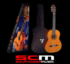 VALENCIA TC2K HALF 1/2 SIZE CLASSICAL NYLON STRING ACOUSTIC GUITAR & GIG BAG