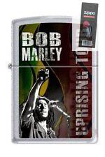 Zippo 1039 bob marley uprising tour RARE & DISCONTINUED Lighter + FLINT PACK