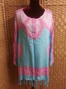 LADIES FESTIVAL BOHO TOP FIT APPROX UP TO 18