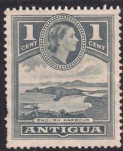Antigua 1953 – 62 QE2 1ct Slate Grey No Gum SG 121 ( M360 )