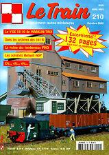 LE TRAIN N° 210 DE 2005, LA PATINE DES TOMBEREAUX PIKO, LE Y DE 18110 DE TRIX