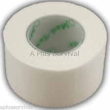 "Adhesive Cloth First Aid Surgical Tape 1"" x 30' Roll for Survival Kits, CERT EMT"