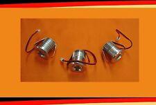 LED Spot Set 3er Set Leuchten Lampen Terrassenüberdachung Carport