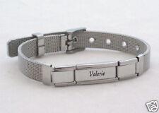 PERSONALIZED Mesh Super Link Italian Charm Bracelet