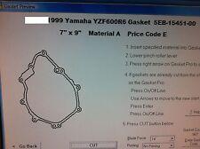 Yamaha R6 Generator Left Cover Gasket 1999 2000 2001 2002