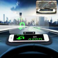 HUD Screen Car Head Up Display Projector Navigation GPS Phone bracket new