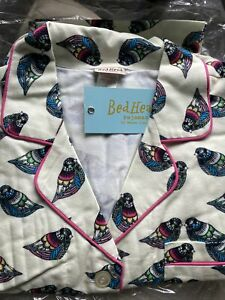 BedHead pajamas Large flannel birds