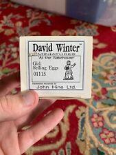 David Winter Girl Selling Eggs 01115