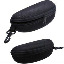 Zipper Hard Eye Glass Case Protector Travel Fashion Sunglass Box with Belt Clip