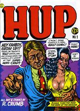 HUP #1 VG 2nd Printing 1987 R.Crumb MR.NATURAL LAST GASP *Ships Free w/$35 Combo