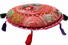 "18"" Cushion Cover Meditation Case Decor Pillow Floor Round Mandala Throw Indian"