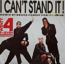 """Twenty 4 Seven Featuring Captain Hollywood-I Can't Stand It 7"""" Single.BCM 09395."""