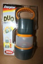 ENERGIZER DUO 2 IN 1 Light Lampe Torche ou Lanterne 30 heures piles non incluses