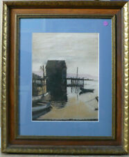 Original Pastle By C Castle 'Twilight' Excellent Gifted 23 X 21