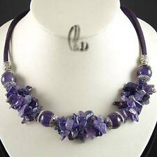 Amethyst Natural Fashion Necklaces & Pendants