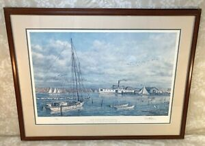 """Paul McGehee """"Bay Country Landing"""" Serigraph Ltd Edition #622/950 Signed"""