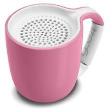 Gear4 Espresso Cup Portable Wireless Universal 3.0 Bluetooth Speaker pastel pink