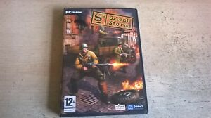 S2: SILENT STORM - 2003 STRATEGY PC GAME - FAST POST - ORIGINAL & COMPLETE - VGC