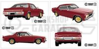 New! Collectable Holden Monaro HX Limited Edition LE Large Sticker Set