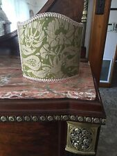 Fortuny Shield Lampshade Melagrana Green 28 X 31 Cms
