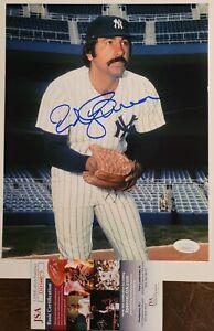 Ed Figueroa New York Yankees Signed Auto 8x10 Photo JSA Certified Autograph