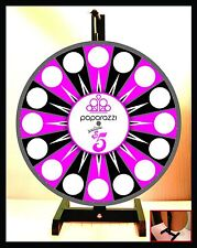 """Prize Wheel 18"""" Spinning Tabletop Portable Paparazzi Everything $5 Wheel"""