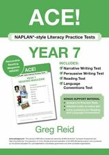 NAPLAN*-style Literacy Practice Tests Year 7 with Year 7 Reading Magazine