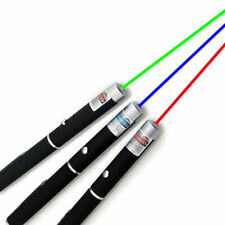 New listing 3Pcs Laser Pointer Pen Green Blue Violet Red Light Beam 101 Lazer Power Speech