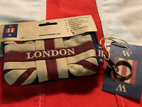 London Union Jack Coin Purse By Woven Magic ( Tea Dyed)