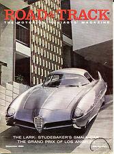 Road & Track Magazine December 1958 Studebaker's Small Car VGEX 122215jhe