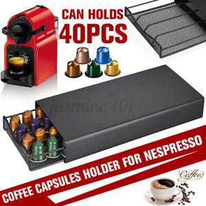 Kapselhalter Schublade Schubladen Für 40 Kaffeekapseln Spender Kapsel Behälter
