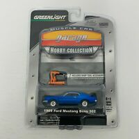 Greenlight Muscle Car Garage - 1969 Ford Mustang Boss 302 Diecast 1:64 Scale