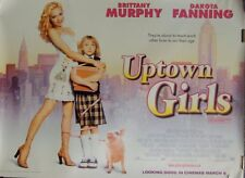 Uptown Girls Original Double Sided UK Quad Movie Poster Brittany Murphy Fanning