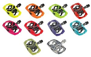 iSSi Trail III Pedals Aluminum Dual-Sided SPD Clipless MTB Gravel Bicycle Pedals