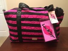 Luv BETSEY JOHNSON SET of 3: Weekender, Backpack, Pouch Travel Bag