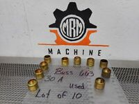 BUSS 663 Fuse Reducers 30A Used With Warranty (Lot of 10)