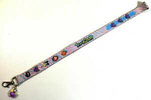 AUTHENTIC TAMAGOTCHI WIZ LANYARD by BANDAI from 2006 w/ 1 CHARM ~ EXCELLENT!