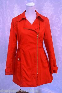 H&M stylish Red Coat size 10
