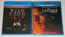 Horror Blu-ray Lot - Wish Upon (Used) The Lazarus Effect (New)