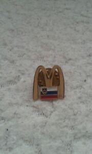McDonald's employee badge