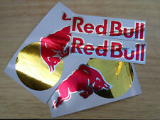 4 Red bull decals stickers energy drink Motocross Drift Snowboard helmet motogp